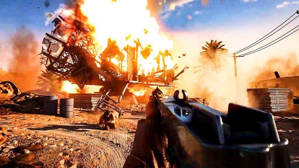 battlefield mobile esplosione