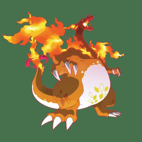 charizard pokemon vgc 2021 series 8