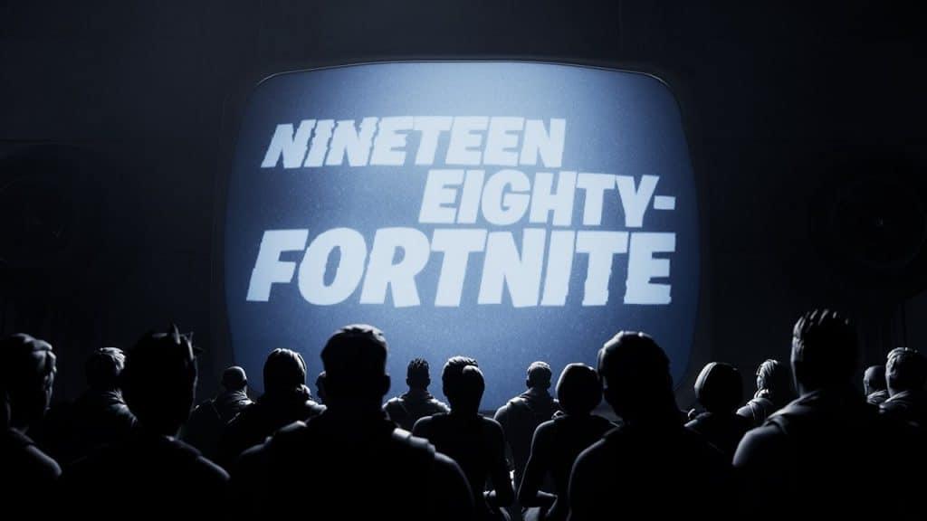 epic games vs apple nineteen eighty fortnite