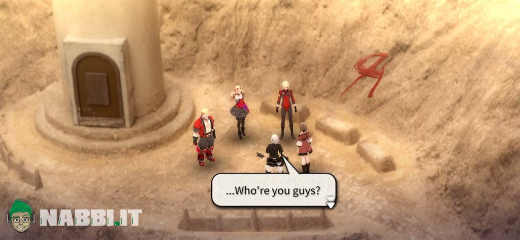 fantasian boss battle chat