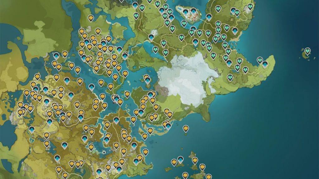 Cartina Italia Interattiva Html.Mappa Interattiva Di Genshin Impact Le Risorse Sono Nostre