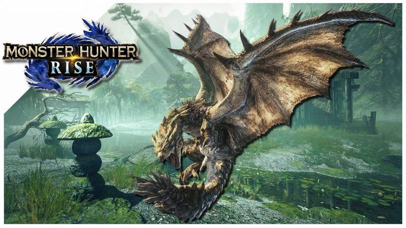 monster hunte rise rathian alberi