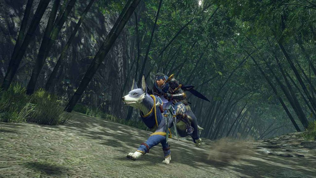 monster hunter rise fix personaggio canyne