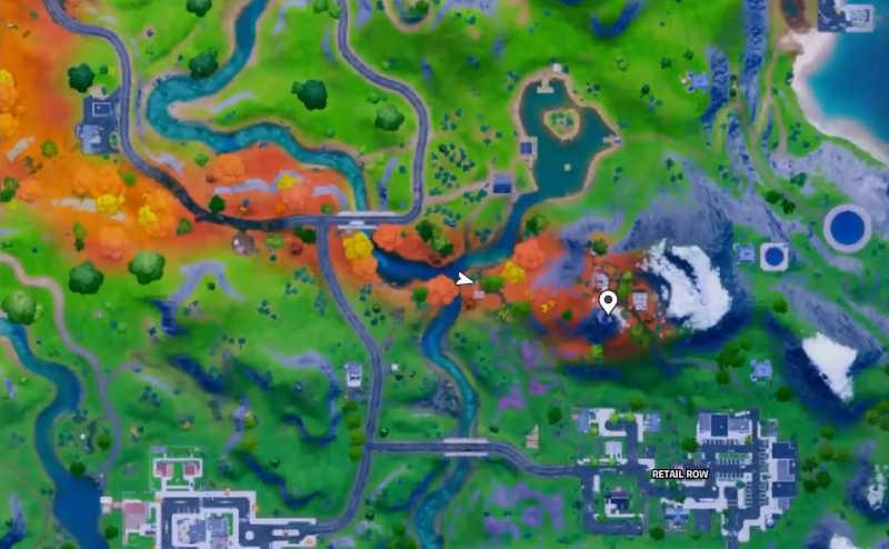 quest della guglia su fortnite mappa