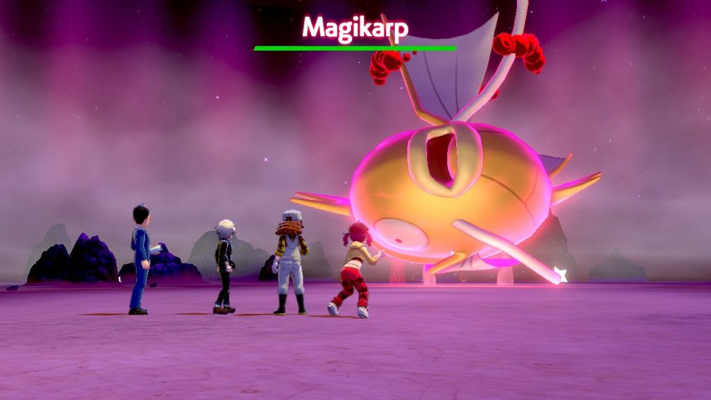 raid magikarp impossibile pokémon scudo spada