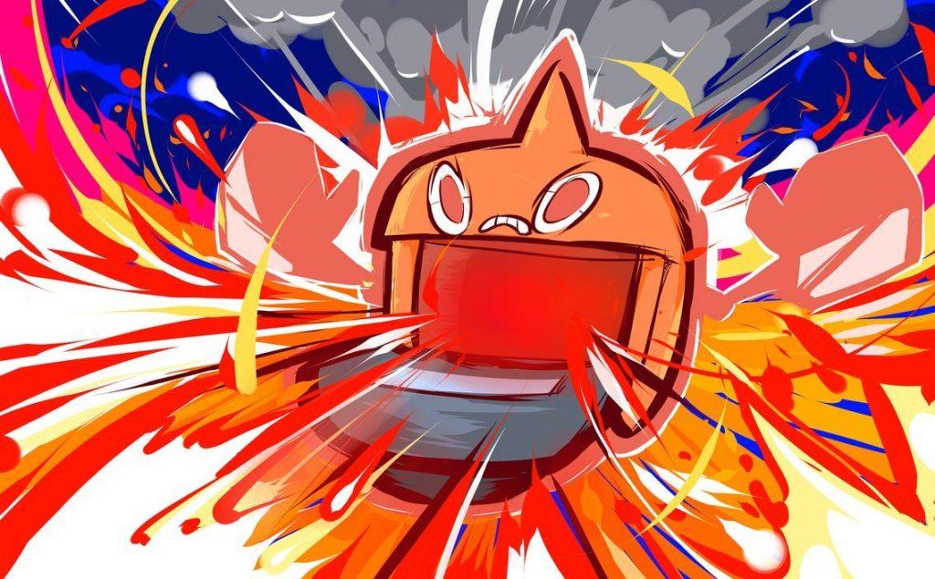 rotom heat fan art pokemon