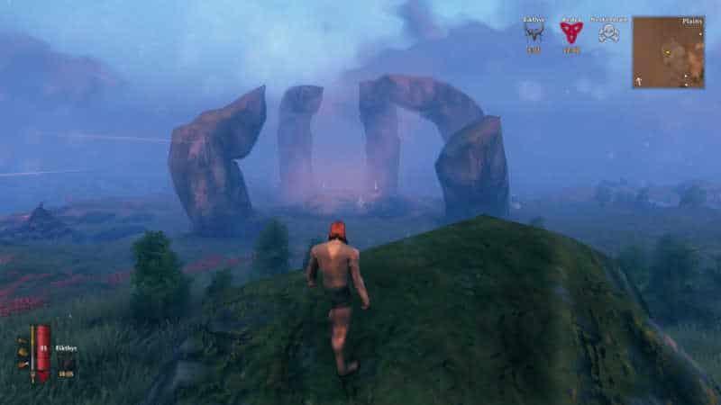 valheim boss rocce erba alberi personaggio icone