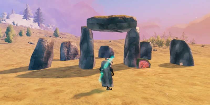 valheim boss rocce erba alberi personaggio