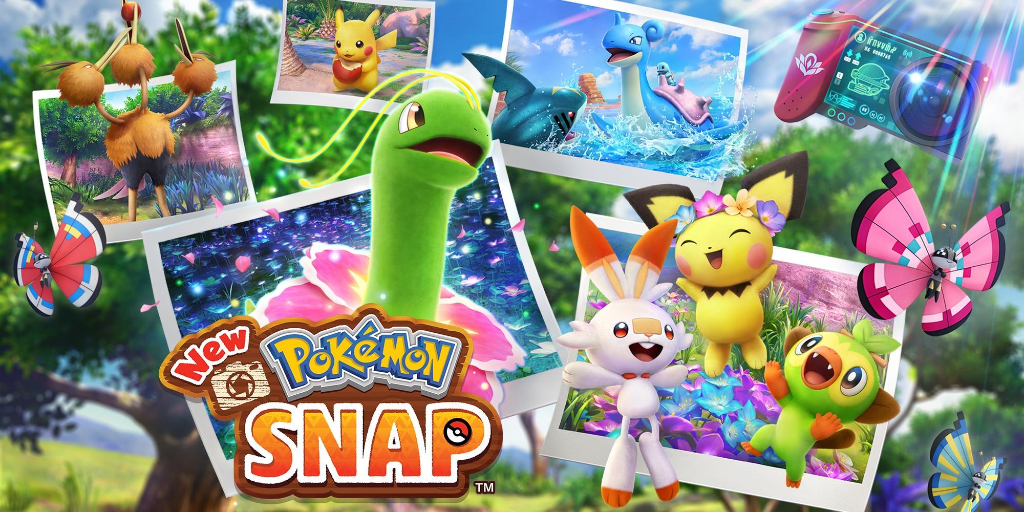 New Pokémon snap copertina