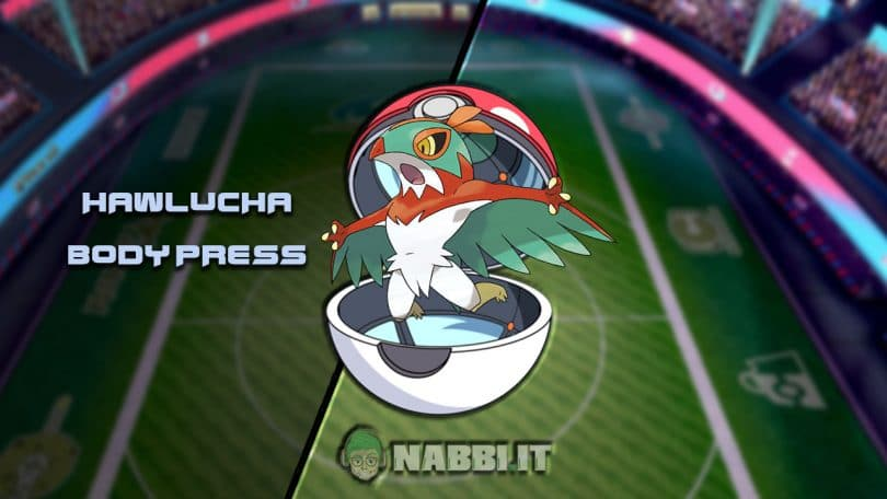 Via Vittoria guida vgc 2021 series 9 Pokemon hawlucha build