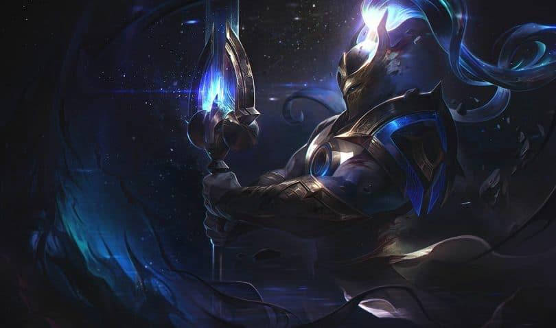 Xin Zhao Build Difensore Cosmico Splash Art