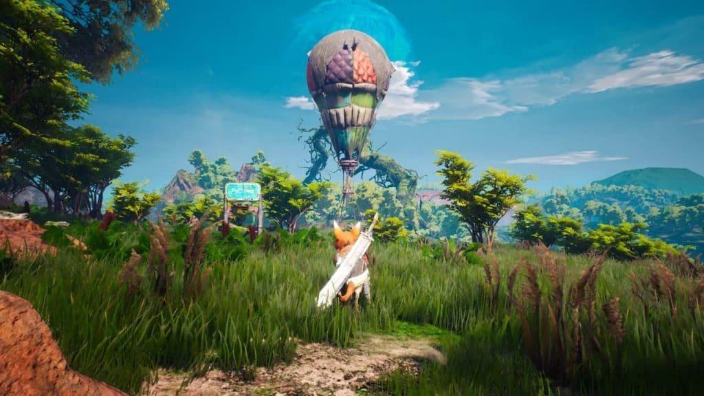 biomutant patch mondo di gioco