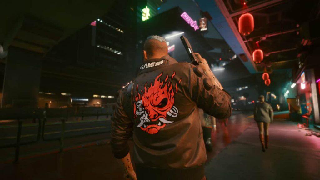 cyberpunk 2077 bug samurai giacca