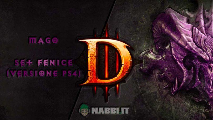 diablo road to 100 mago set fenice ps4 copertina