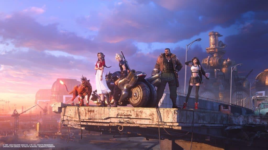 esclusività di final fantasy 7 remake personaggi