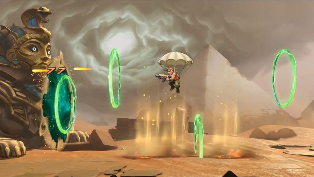 metal slug remake gameplay