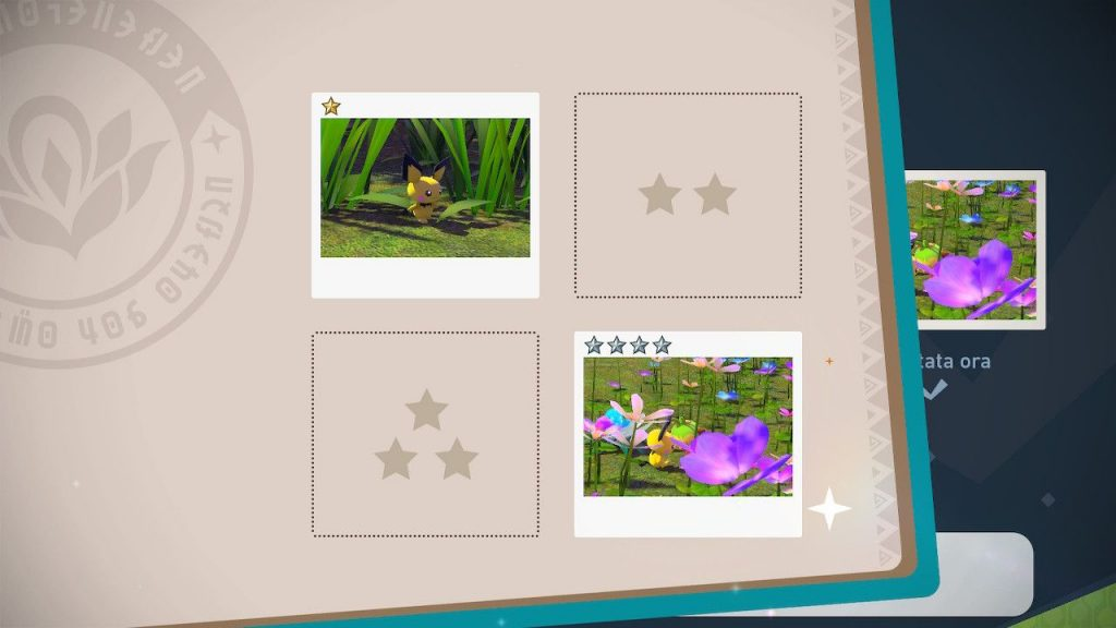 new pokemon snap album foto