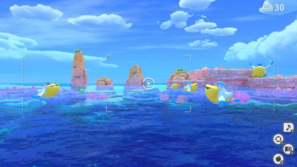 new pokemon snap oceano