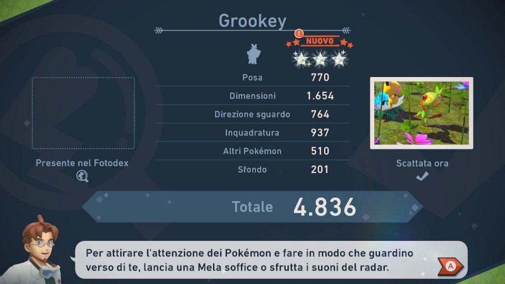 new pokemon snap valutazione foto