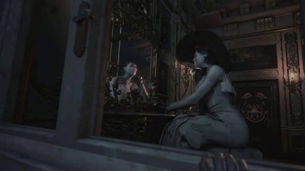 resident evil village mod lady dimitrescu specchio