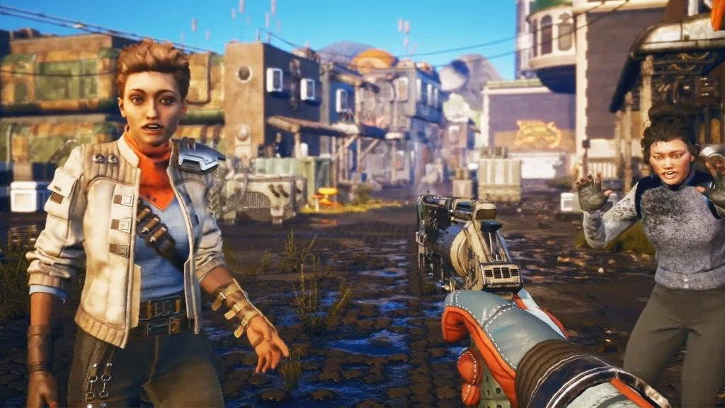 the outer worlds in game