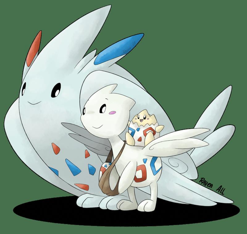 togekiss fan art pokemon vgc