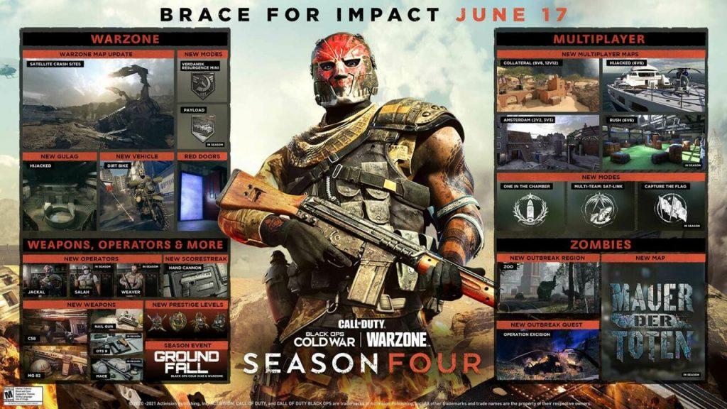 Call of Duty Cold War Season 4 mappa