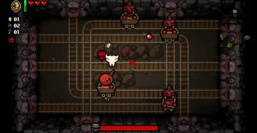 Come funzionano i livelli in The Binding of Isaac mines
