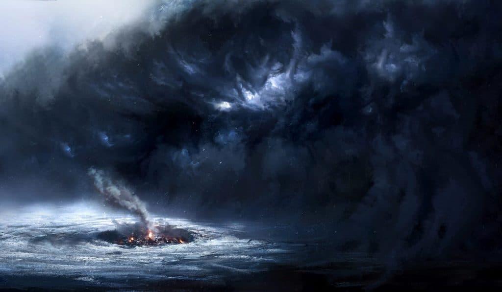 Frostpunk Storm coming