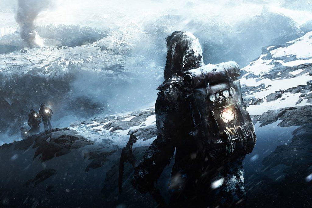 Frostpunk Expedition Splash Art