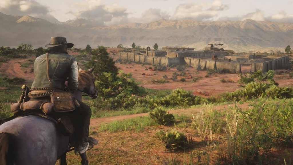 Lobby private in Red Dead Online cavallo