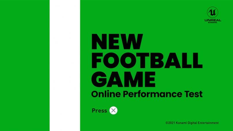 PES 2022 alpha New Football Game Online performance test