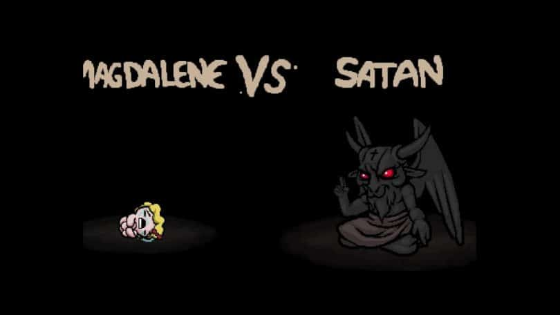 come raggiungere satana in the binding of isaac magdalene