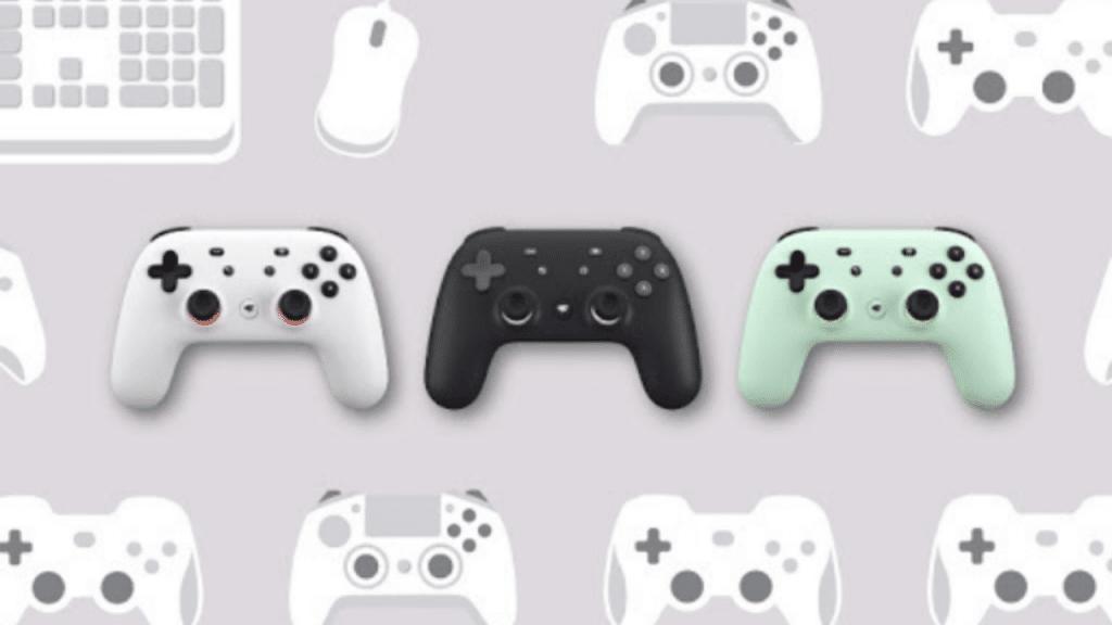 google stadia multiplayer controller