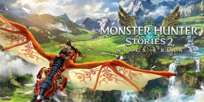 monster hunter stories 2 copertina