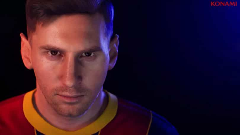 pes 2022 cover messi