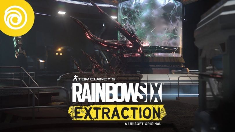 rainbow six extraction copertina