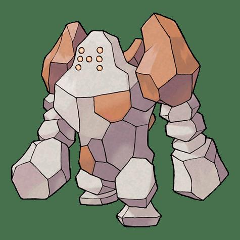 regirock pokemon vgc 2021 series 9