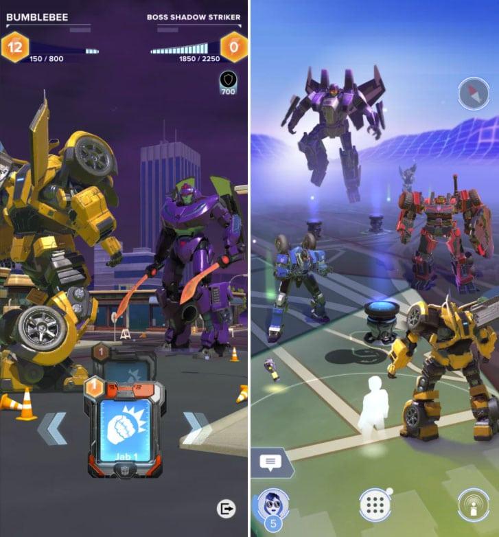 transformers heavy metal screenshot
