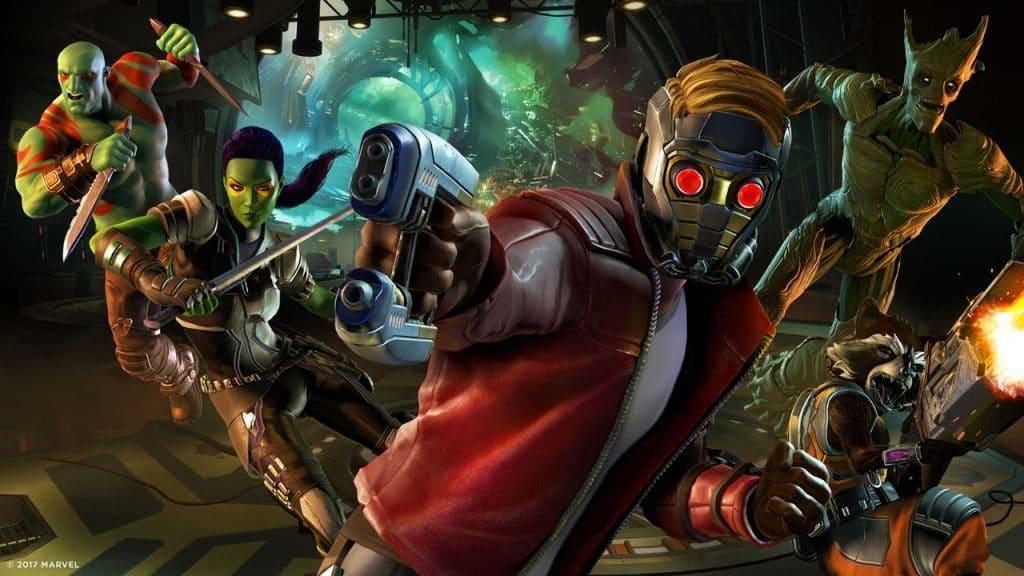 videogiochi disney i guardiani della galassia