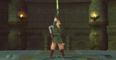 Legend of Zelda Skyward Sword HD link
