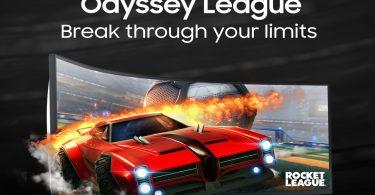 Samsung Odyssey League 2021 rocket league 3v3