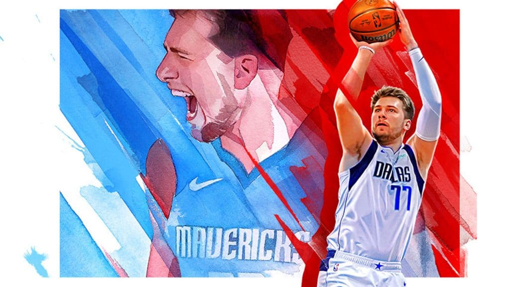 nba 2k22 cover star luka doncic candance parker