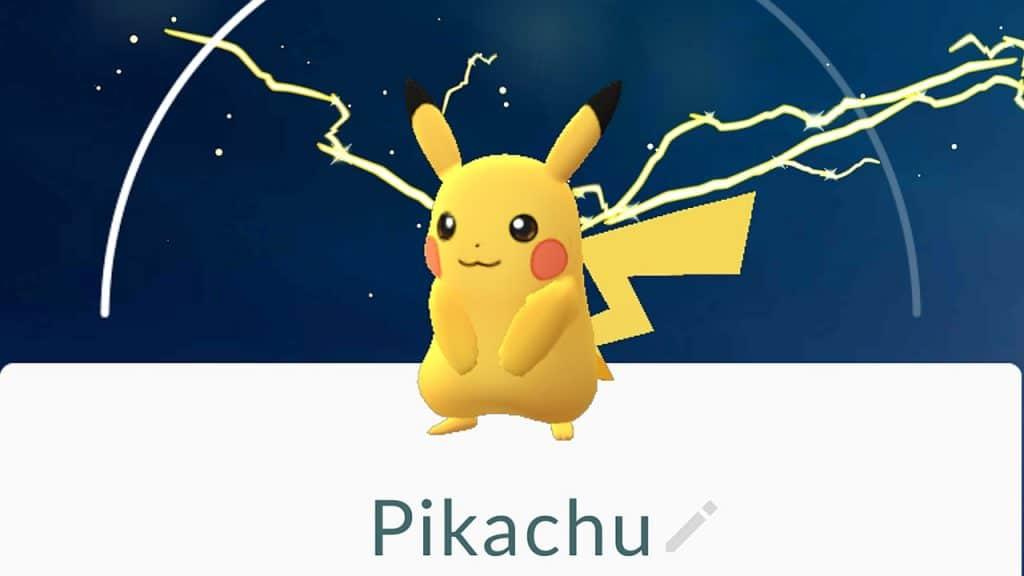 ottenere tutti gli starter in Pokémon GO pikachu
