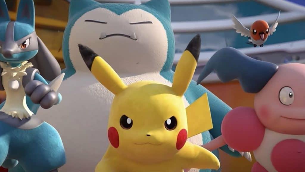 quando esce pokémon unite snorlax pikachu