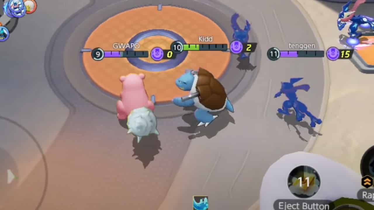 Blastoise Pokémon Unite