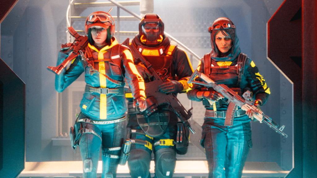 Rainbow Six Siege Containmnet personaggi