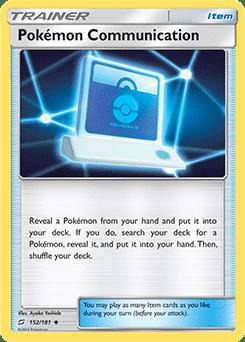 pokemon communication tcg pokemon