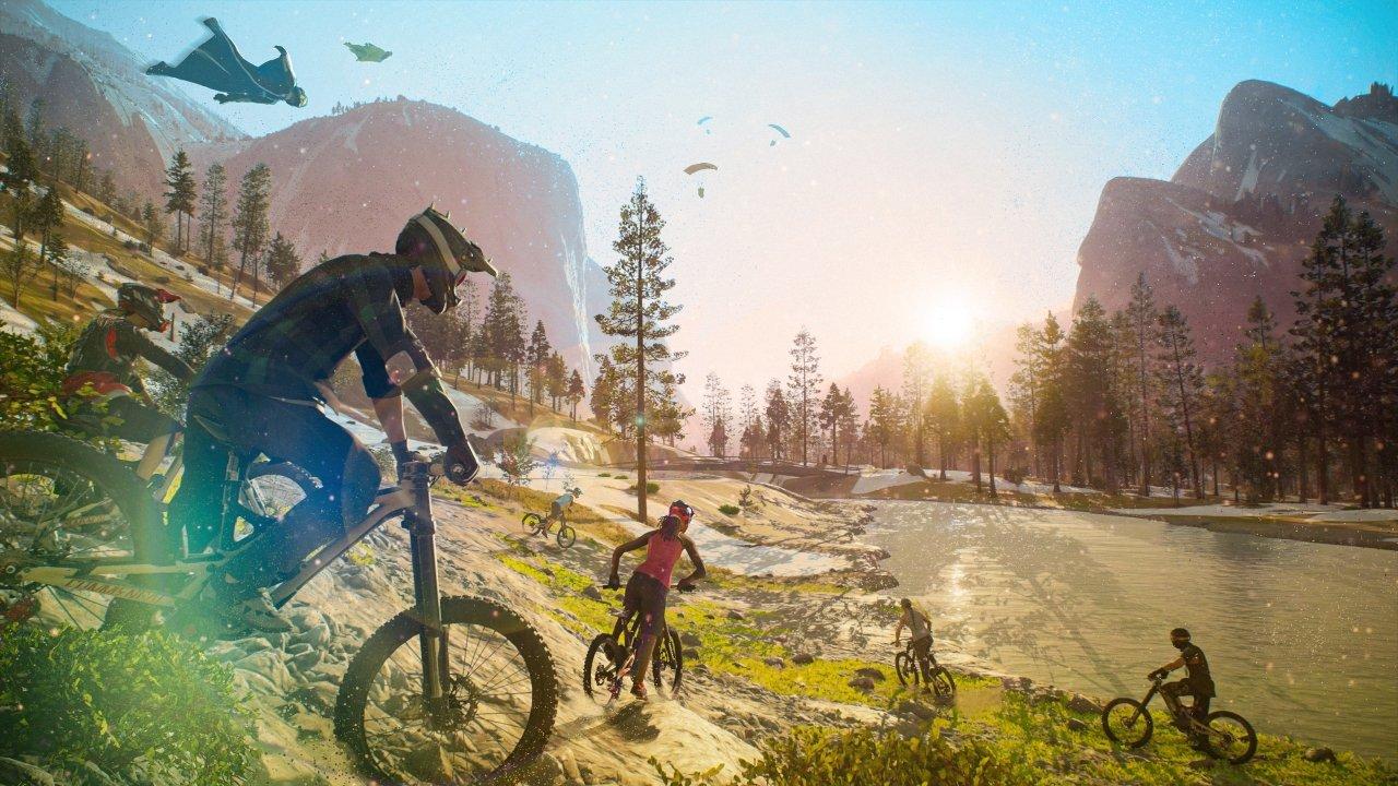 riders republic beta bici ambientazione