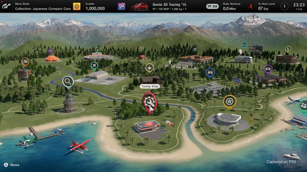 Gran turismo 7 mappa